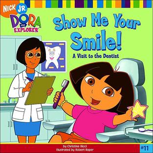 Books for kids with dentla fear