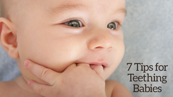 7 Tips for Teething Babies