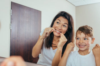 Here's How Your Child Should be Flossing