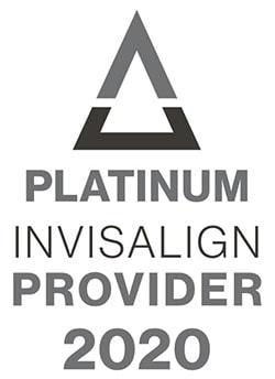 Invisalign platinum provider 2020 logo
